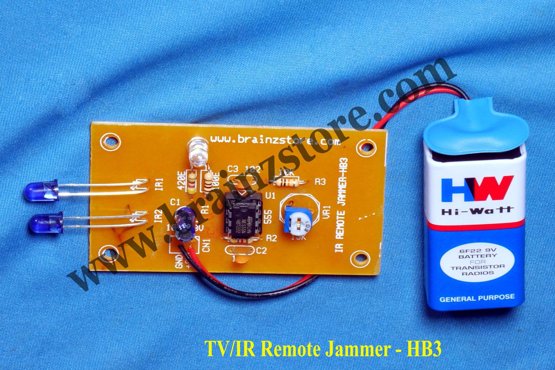 Signal blocker detector circuit - signal blocker detector home